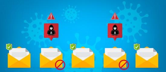 Phishing: les attaques utilisant le thème du Covid-19 explosent